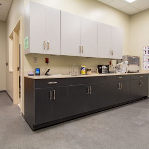 Modular Casework for Police Departments