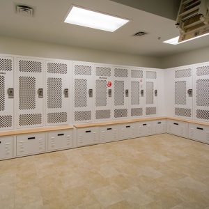 Secure Police Storage Lockers