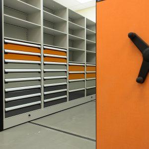 High-Density Storage for Evidence Organization