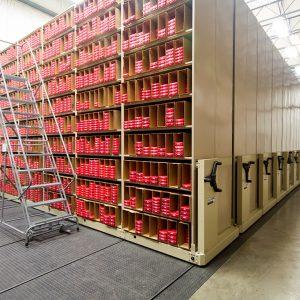 Clovernook Audio and Braille Book Storage