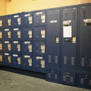 Coach's Personal Storage Lockers