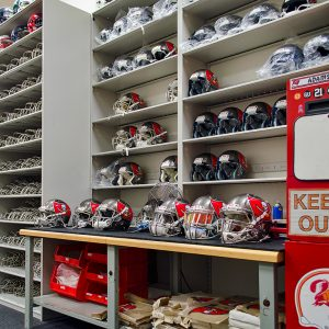 Football Storage for Tampa Bay