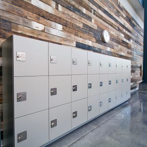 Day-use Lockers for Single Use Storage