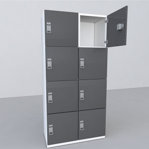 Day-use lockers come in many configurations