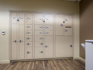 Evidence Lockers are available in many shapes and sizes