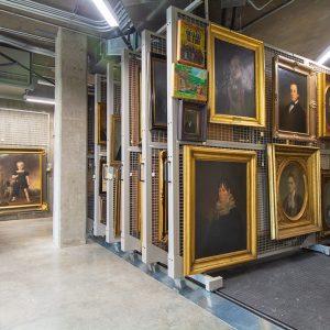Art Racks store framed art work