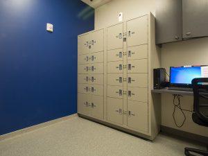 Evidence storage lockers protect chain-of-custody