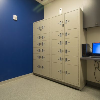 Evidence storage lockers protect chain-of-custody
