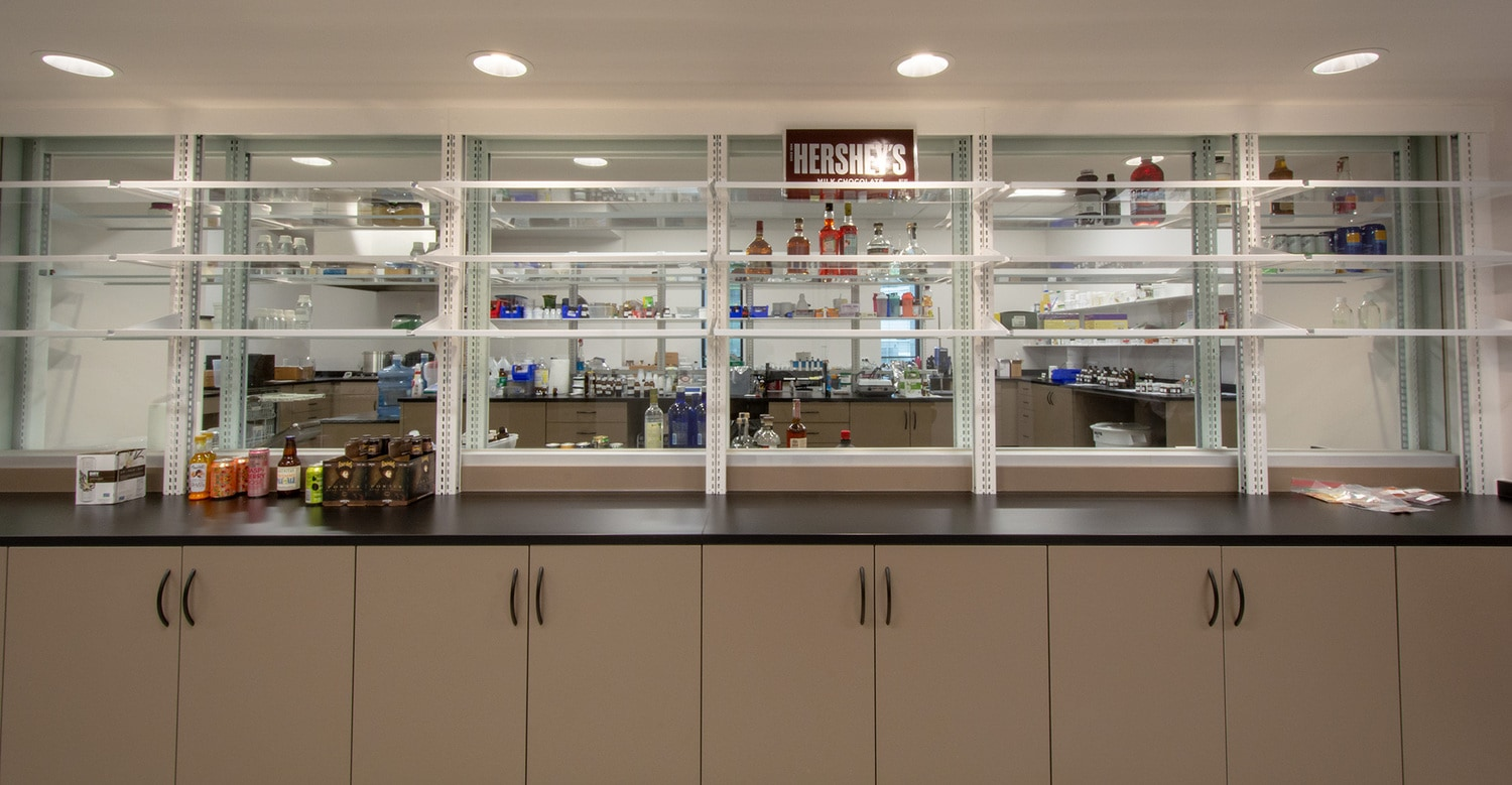 Spot-on Laboratory Storage Adds Just the Right Flavor