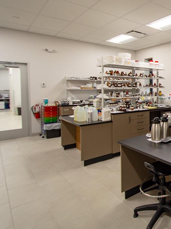 Callisons: Laboratory Storage