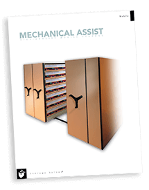 Mechanical Assist High-Density Shelving System brochure