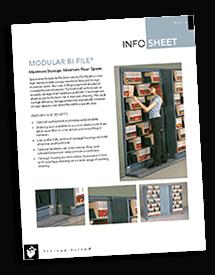 High-Density Lateral Sliding Shelving Brochure