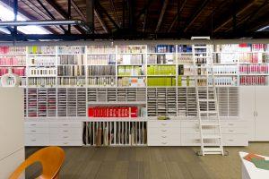 Modular Casework for storing binders and sample
