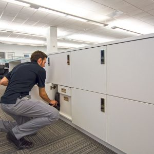 Secure Employee Storage