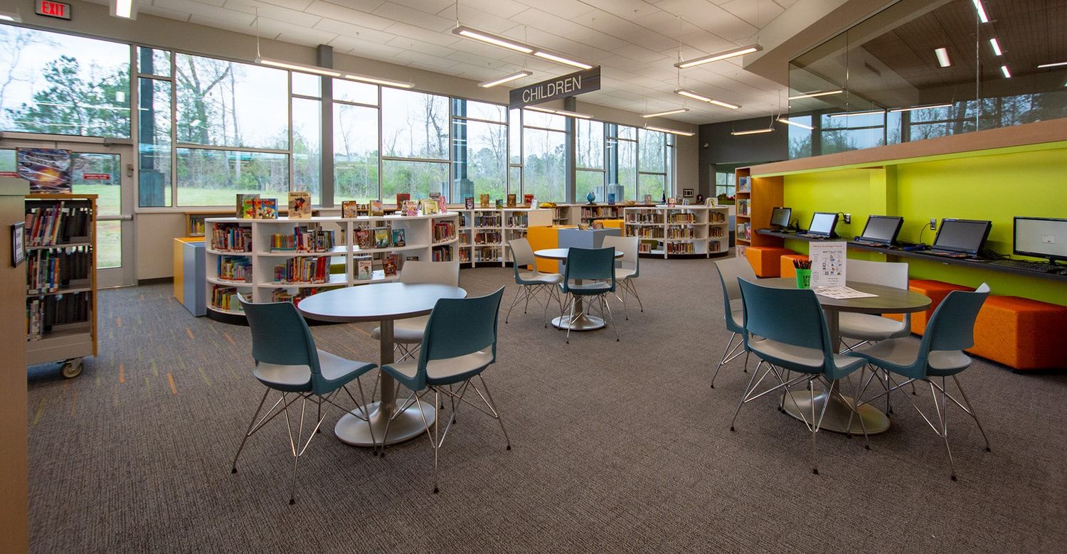 Smart Library Storage Design Energizes Georgia Community