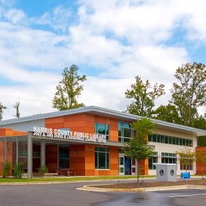 Harris County Public Library Exterior