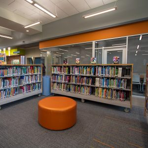 Library Stacks on Casters makes space redesign easy