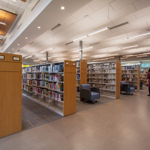 Shelving for Harris County Public Library
