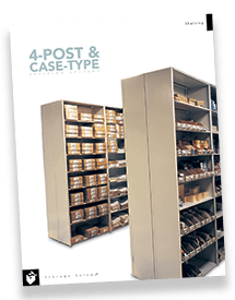 Case-Type Shelving Systems Brochure