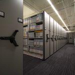 High-Density Music Library Storage System