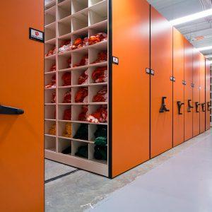 Clemson Tigers Football Equipment Storage