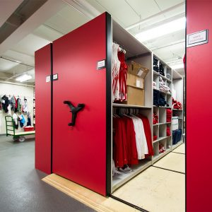 Mobile storage for athletic gear