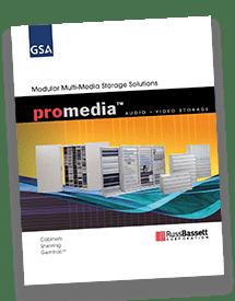 Media Storage Cabinets Brochure