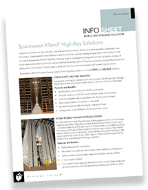Spacesaver High-Bay Shelving Brochure