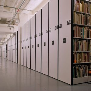 Cartoon Library saves space with high-density shelving