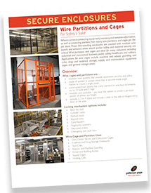 Industrial Storage Lockers Brochure