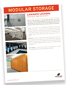 Laminate Lockers Brochure