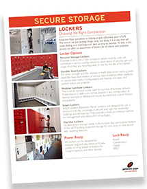 Durable Steel Lockers Brochure