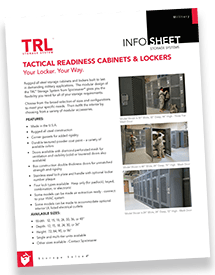 Gear and Tactical Readiness Lockers Brochure