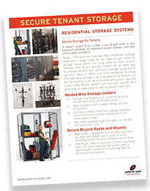 Tenant Storage Lockers Brochure