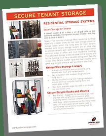 Tenant Storage Lockers Brochure