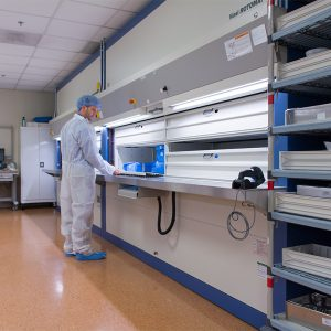Sterile Processing Storage with Hanel Rotomats