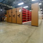Mobile Shelving to Store Medical Supplies for Military Base