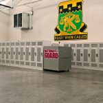 Secure lockers for National Guard Gear