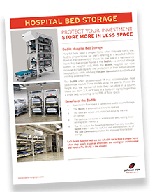 Hospital Bed Storage (Bed lifts) Brochure