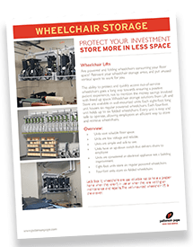 Wheelchair Storage Brochure