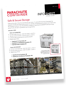 Parachute Container Brochure