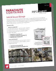 Parachute Container Brochure