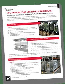 Parachute Rack Brochure