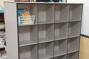 Teachers rely on cubbies to organize classrooms