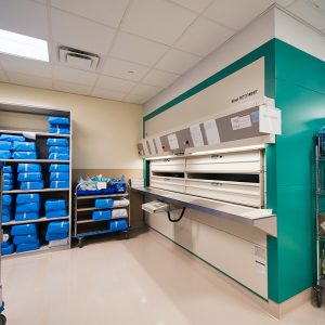 Carousels secure storage of valuable medical instruments