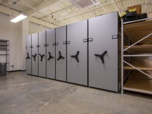 High-Density Storage for Police Evidence