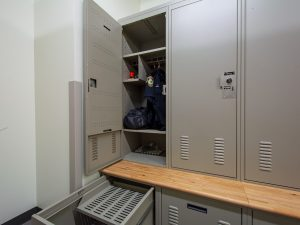 Secure Lockers for Police Uniforms and Gear