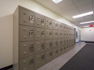 Locker for Law Enforcement Facilities