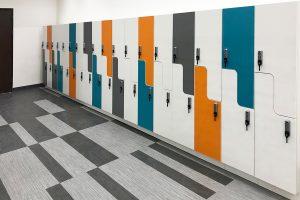 Modular Locker for Employee Storage