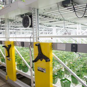 high-density storage for grow facility